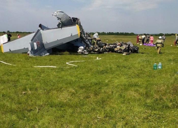 Падение самолёта в Кузбассе: девять погибших, 15 пострадавших