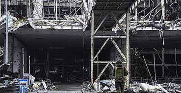 В районе Донецкого аэропорта опять идет бой