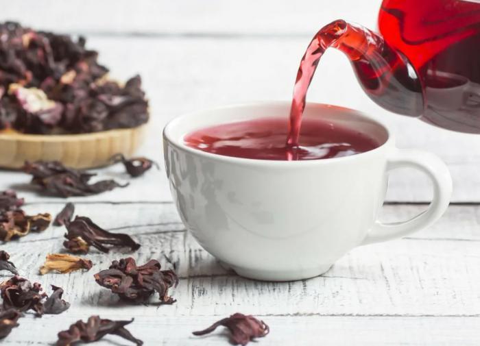 горячие напитки на основе чая