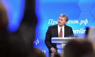 """Песков - о заявлении Санду по Приднестровью: """"Додон был конструктивнее"""""""