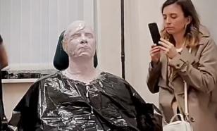 Митя Фомин сделал силиконовый слепок с лица