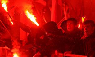 В германском Хайденау начался антимигрантский  бунт. Видео