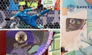 Матч Россия-Испания был предсказан на сторублевой купюре