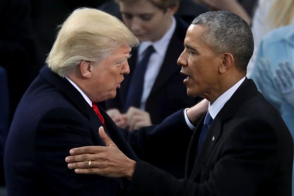 Трамп: Обама был очень некомпетентным президентом