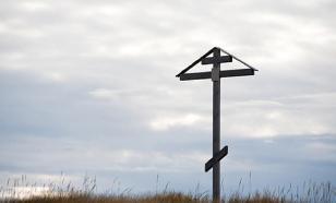 В Омской области школьники-вандалы сломали на кладбище 43 креста
