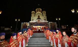 В Екатеринбурге прошел большой Крестный ход в память святых Царственных Страстотерпцев