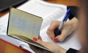Порошенко не нарадуется украинскому паспорту