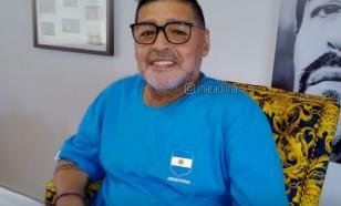 Работника морга уволили за селфи с телом Марадоны