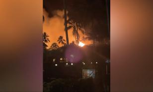 На Занзибаре сгорел отель, где отдыхали российские туристы