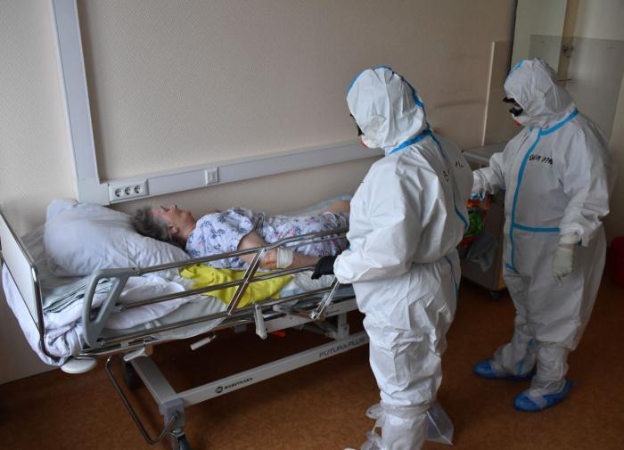 Всего 13% новых коронавирусных россиян живет в Москве