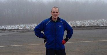 Забег Москва - Сочи: Ерохин пробежал больше 1000 километров за 16 дней