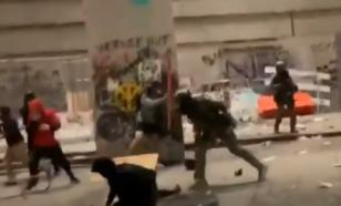 Американские полицейские напали на журналистов Первого канала