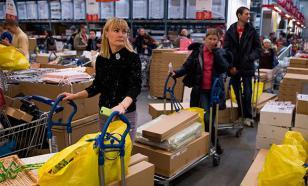 ВЦИОМ: Россияне начали покупать по-крупному