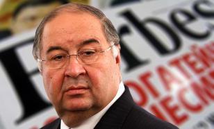 Усманова выбили из тройки самых богатых россиян