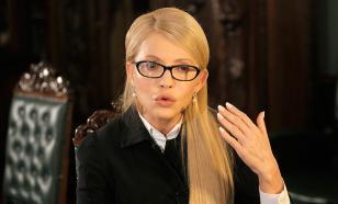"""Тимошенко назвала Порошенко """"коррумпированным и авторитарным негодяем"""""""