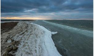 Дно Азовского моря впервые за десятки лет открылось на 100 метров