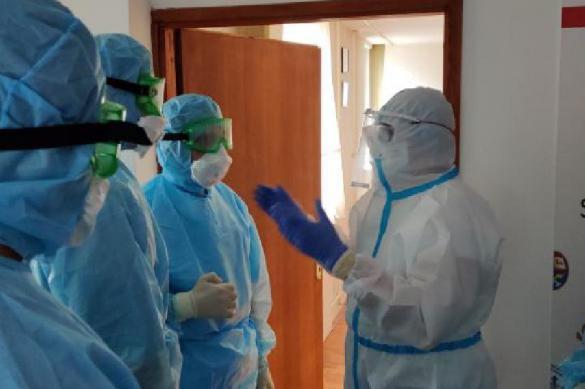 Дезинфекцию 27 объектов провели российские военные в Сербии