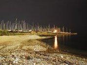 Античный Пирей превращался в остров
