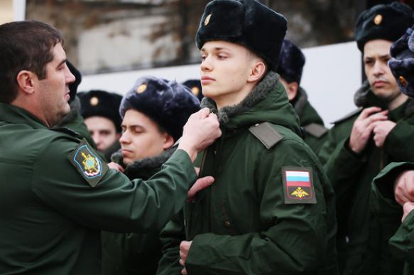 Генштаб заявил о переизбытке призывников в России