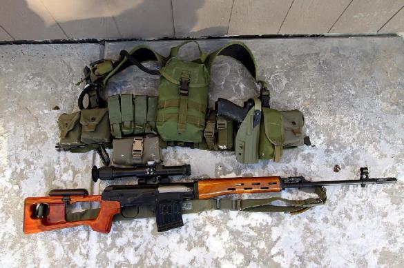СВД - оружие снайперов