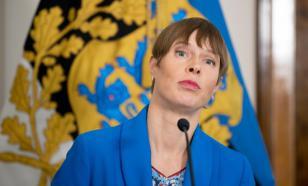 В Эстонии паром врезался в причал. На борту находилась президент страны