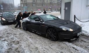 Москва парализована метелью и снегопадом