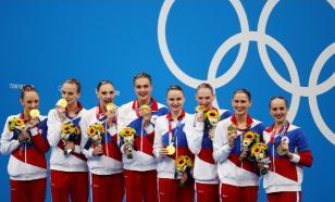 """""""Недосягаемые!"""": российские синхронистки взяли золото на Олимпиаде в Токио"""