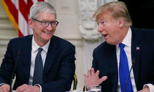 Глава Apple убедил Трампа не вводить новые пошлины против Китая