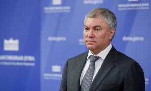 Спикер ГД Володин недоволен поведением Терешковой