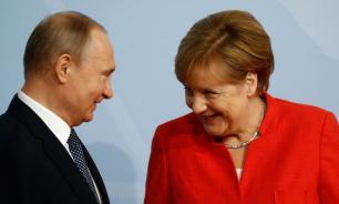 Владимир Путин поздравил Ангелу Меркель с 65-летием