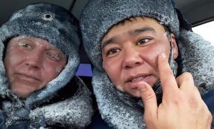Оренбургские инспекторы ДПС обморозились, эвакуируя людей с трассы