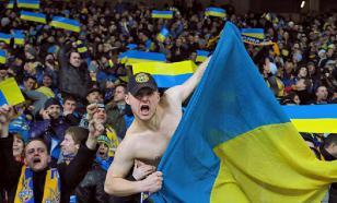 На стадионе во Львове включили песню о любви к Москве