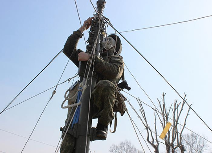 Связисты Восточного военного округа провели радиотренировку