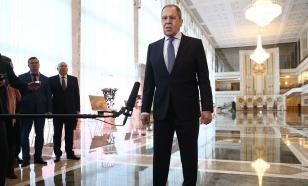 Лавров: Запад в Белоруссии ведёт игру без правил