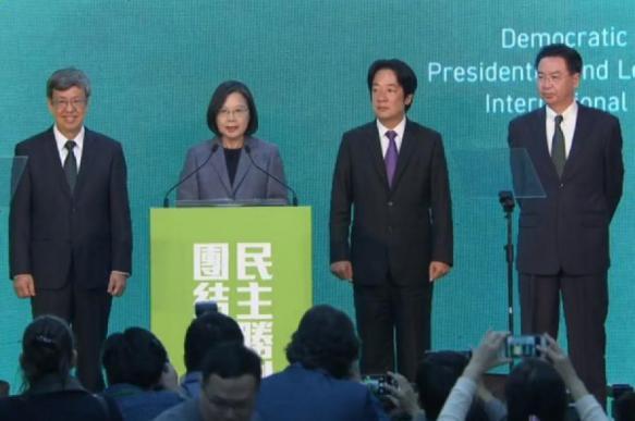 Президент Тайваня считает его независимым от Китая