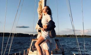 Арзамасова и Авербух наслаждаются медовым месяцем на яхте