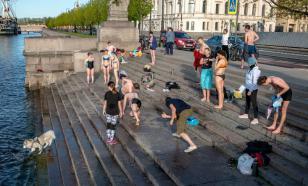 В Петербурге побит температурный рекорд 1905 года