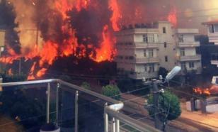 Почему горящая Турция очень избирательно принимала помощь