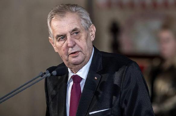 Чешский лидер Милош Земан пригрозил России