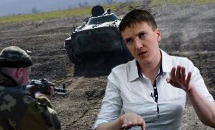 Евродепутат Савченко приказала остановить АТО