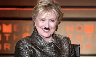 Американец намекнул на связь Хиллари Клинтон с Гитлером