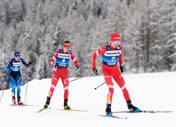 Российская лыжница Ступак взяла бронзу в последней гонке Кубка мира