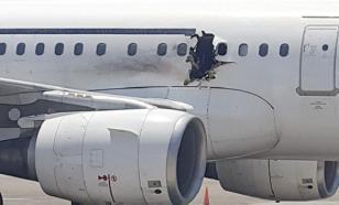 На борту сомалийского лайнера взорвалась бомба