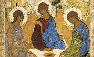 Совет Троицы: от Авраама к Христу