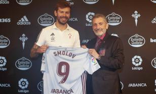 """Смолов приехал на тренировку """"Сельты"""" и рассказал о своём самочувствии"""