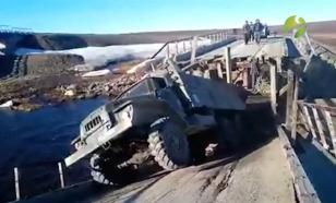 На Ямале начали расследование дела об обвалившемся мосте