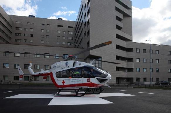 В Боткинской больнице появится медпункт с вертолетной площадкой
