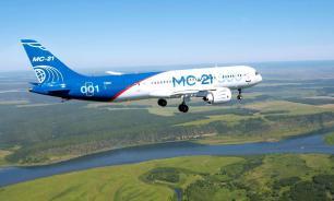 В Жуковском самолет МС-21 совершил аварийную посадку
