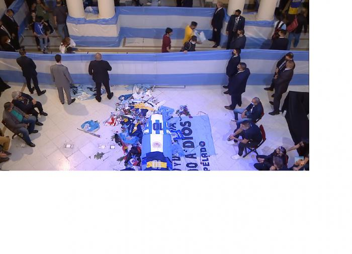Похороны Марадоны обернулись беспорядками и столкновениями с полицией