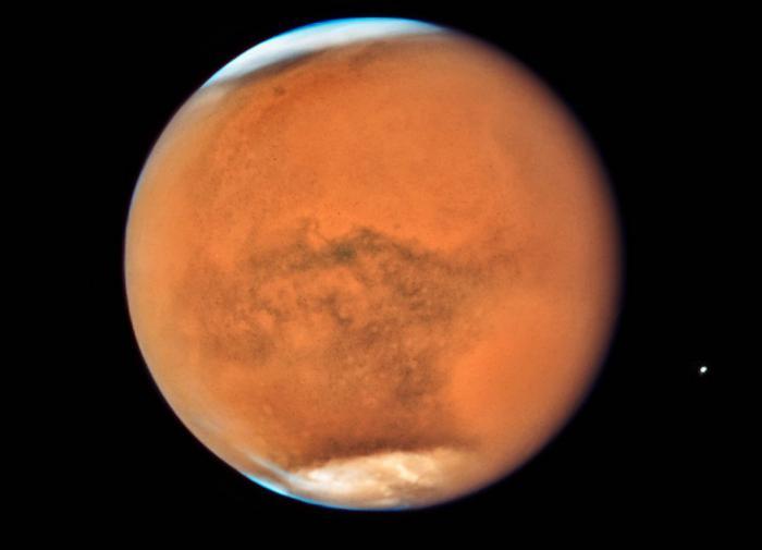 Цианобактерии помогут людям выжить на Марсе